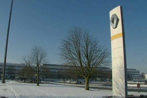 Le site de Renault Douai, le 16 janvier dernier.