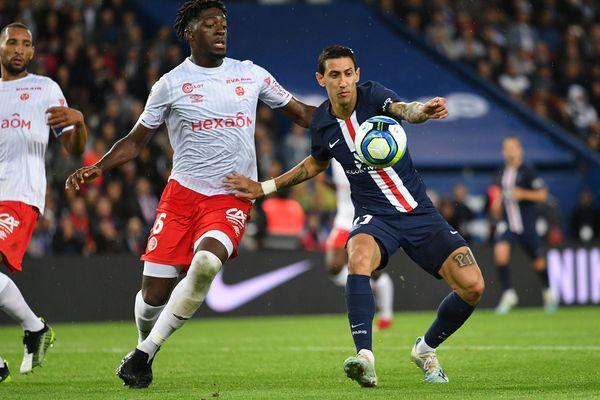 Le Stade de Reims contre le PSG au Parc des Princes, le 25 septembre 2019