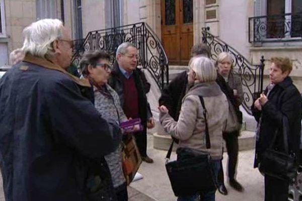 Les opposants au projet Erscia ont fait le déplacement à Dijon