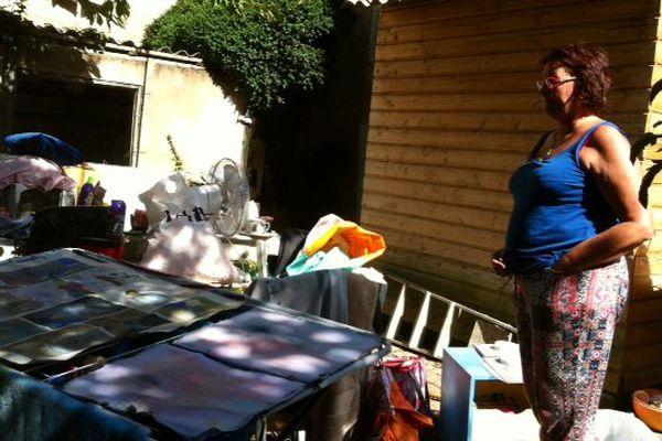 La maison de Nicole dans le ruelle Pasteur à Poitiers a été complètement dévastée.