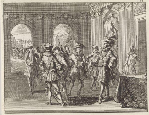 """""""Ridder Payen de Beaufort wordt beschuldigd van hekserij en gevangengenomen"""" (""""Le chevalier Colard de Beaufort est accusé de sorcellerie et emprisonné"""")"""