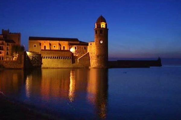 Le château royal de Collioure, dans les Pyrénées-Orientales