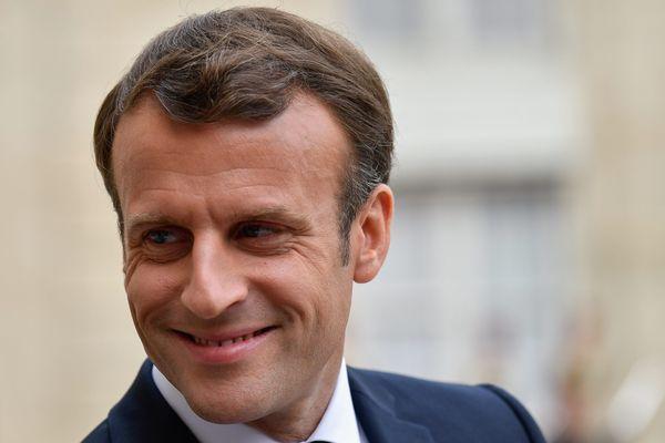 23 avril 2019. Emmanuel Macron, Président de la République.