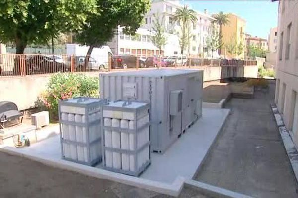 Ajaccio le 04/06/15 – Inaugurations du générateur à oxygène de l'hôpital Eugénie