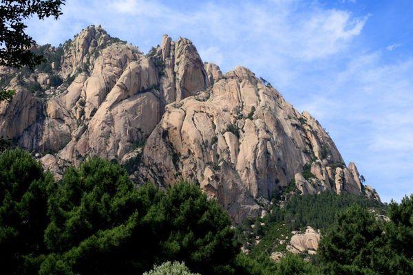ILLUSTRATION - Le parc naturel régional de Corse est une zone protégée qui couvre une superficie de 350.510 hectares, soit près de 40% de l'île.