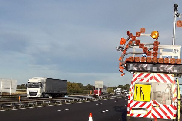 Un fourgon a encore été frôlé par un camion sur l'A9, mardi 17 septembre près de Sète, dans l'Hérault