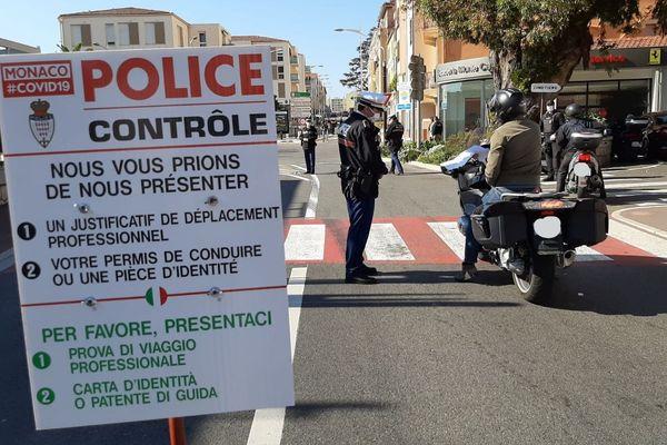 Pour ces contrôles, les polices monégasques et françaises collaborent étroitement.