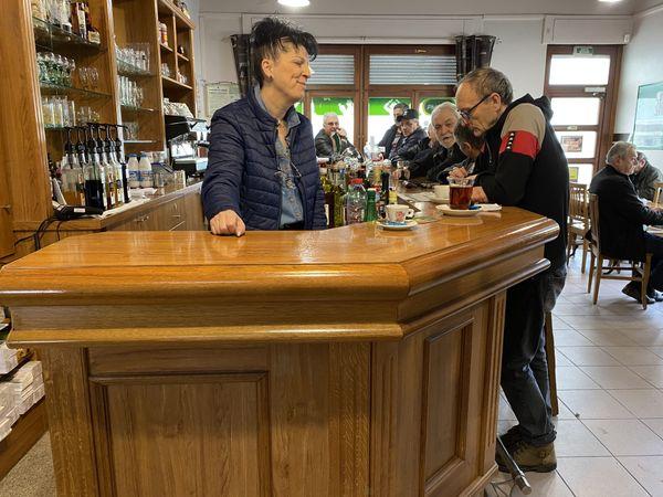 Le café du chemin de fer à Algrange est au lieu convivial.