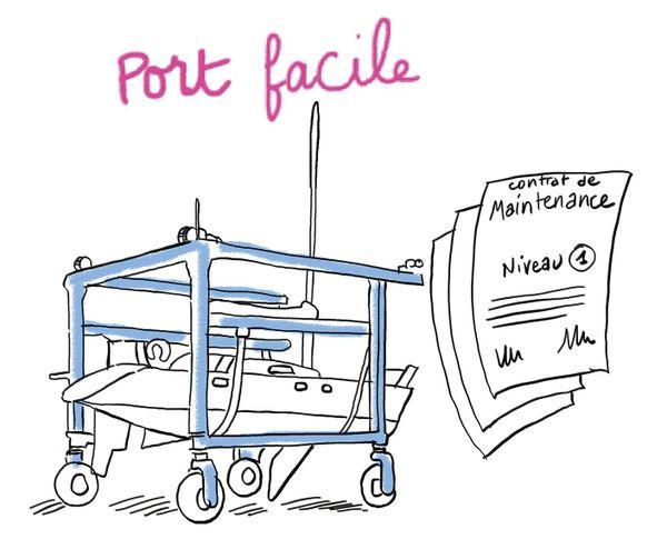 La CCI Nantes-Saint-Nazaire imagine le port facile
