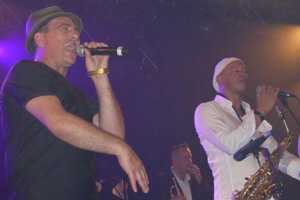 Papet J et Ruben Paz sur scène vendredi soir