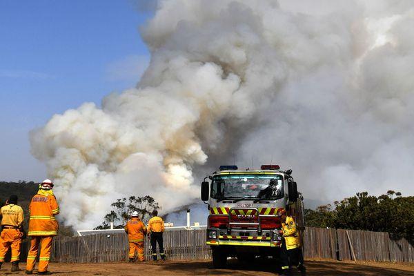 L'expérience des pompiers australiens pourrait améliorer le dispositif de lutte contre les feux de forêt en France