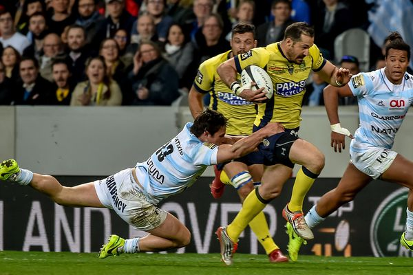 Le Racing absorbe Clermont 27-24.