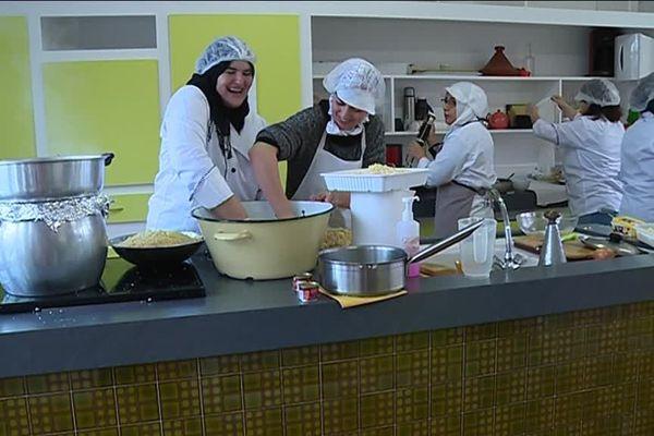 Elles viennent du Maroc, d'Algérie, de Syrie ou de Palestine et partagent leur savoir faire culinaire