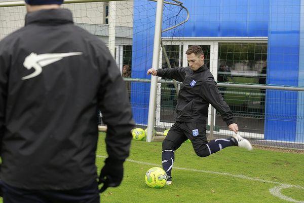 Ludovic Obraniak, nouveau milieu de terrain de l'AJ Auxerre
