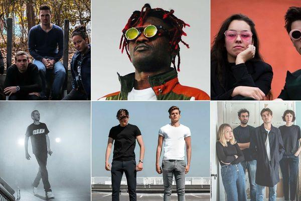 Fall Flavored, Midos Ladowz, Mascaraa, Gulien, Betical et Pastel Coast se disputeront les trois invitations pour le prochain Main Square Festival d'Arras.