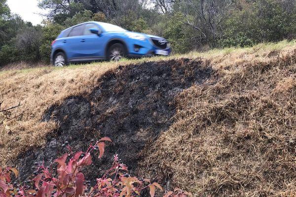 Un corps calciné a été découvert, dimanche, à Roullens dans l'Aude - 25 septembre 2017