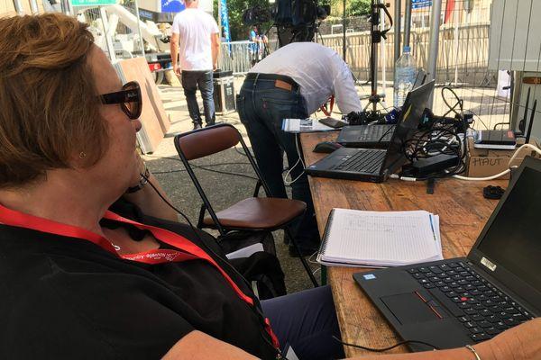 Liliane Maneuf-Iwane, responsable de la communication de France 3 Poitou-Charentes