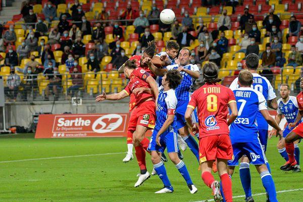 Le Mans FC s'est incliné face à Bastia le 7 septembre 2020