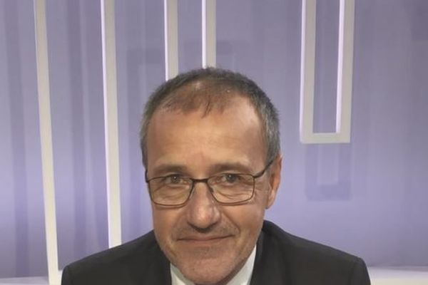 Jean-Guy talamoni Président de l'assemblée territoriale Corse