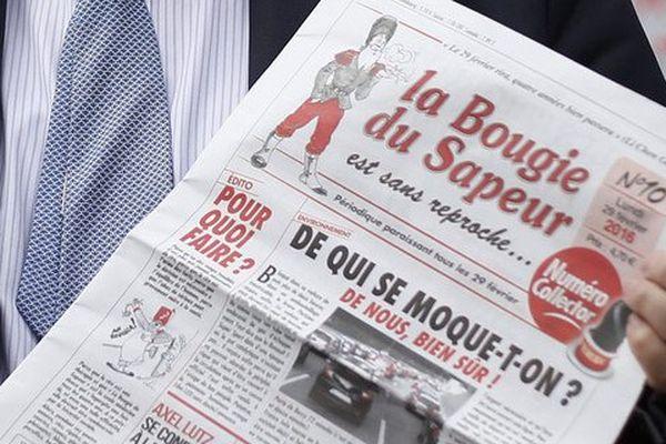 """""""La Bougie du sapeur"""", un journal inspiré par un personnage de bande dessinée né en Haute-Saône."""