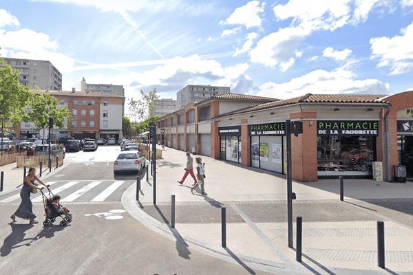 Les échanges de coups de feu sont intervenus quartier Bagatelle à Toulouse (Haute-Garonne) vers midi.
