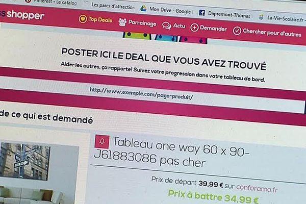 Montpellier - le site crossshopper pour faire les soldes - 2018.