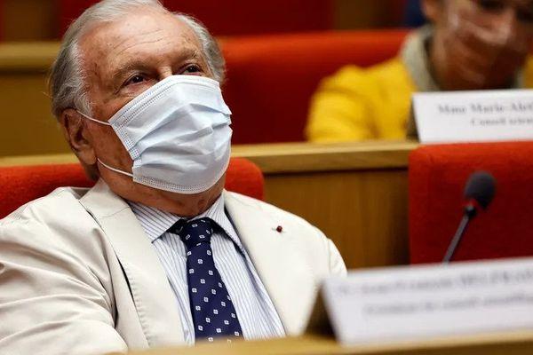 Jean-François Delfraissy lors de son audition au Sénat. © AFP - Thomas SAMSON