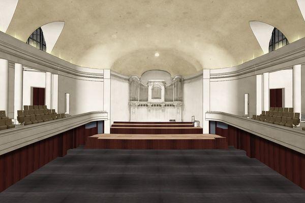 La grande salle du Palais des Fêtes de Strasbourg accueillera à nouveau autour de 1200 spectateurs à partir de janvier 2020.