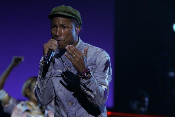Pharrell Williams sera sur la scène du Main Square le dimanche 5 juillet