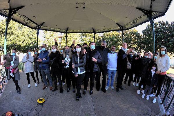 Des saisonniers de Lourdes rassemblés samedi dans la cité mariale
