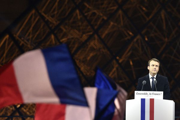 Premier discours d'Emmanuel Macron
