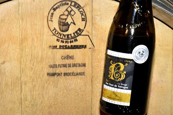 Le Berligou chez les Poiron-Dabin à Château-Thébaud, cépage disparu depuis la Révolution, et vin préféré d'Anne de Bretagne et de quelques rois de France