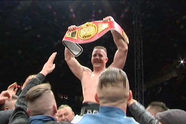 """""""Aldo"""" emporte son 1er titre mondial à Limoges fin 2015"""