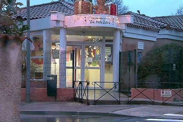 """Vendargues (Hérault) - la crèche municipale """"les petits lutins"""" n'accueille plus d'enfants après le décès d'une fillette de 2 ans - janvier 2018."""