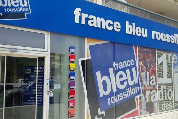 Les locaux de France Bleu Roussillon à Perpignan