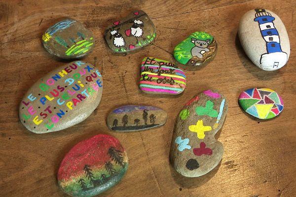 Des galets les plus simples aux plus artistiques, toutes sortes de galets peuvent être à découvrir dans tout le département de la Dordogne