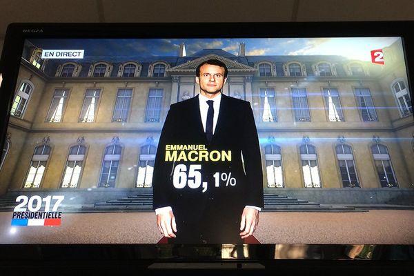 Annonce TV élection présidentielle Emmanuel Macron le 7 mai 2017