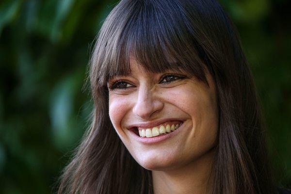 Clara Luciani, le 28 août 2020, au festival du film francophone d'Angoulème.