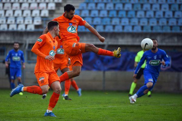Montpellier s'est imposé 2-1 face à Alès en 16 èmes de finale de la Coupe de rance sur un but de Laborde