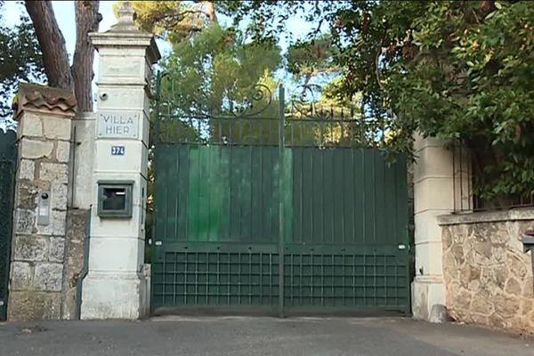 La villa Hier, dans le Cap d'Antibes, dont le montant d'achat pour le compte du milliardaire russe Souleïman Kerimov aurait été sous-déclaré selon les enquêteurs.