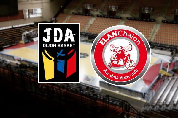 La JDA Dijon Basket et l'Elan Chalon se retrouvent pour un nouveau derby en Pro A.