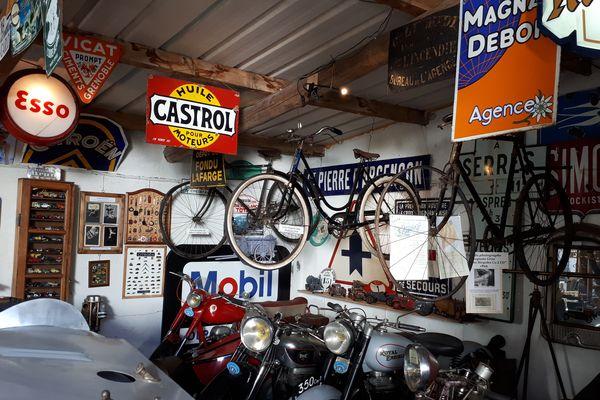 A Serres dans les Hautes-Alpes : la belle collection de l'Estanco, musée auto et moto