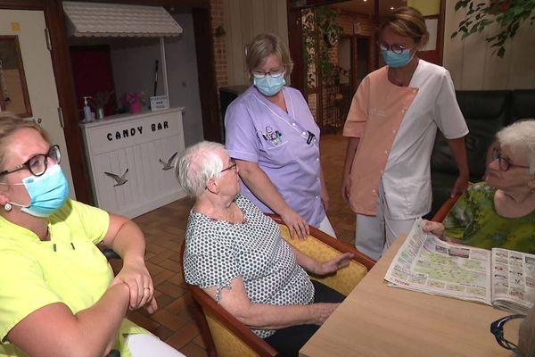 Les visites sont à nouveau réglementées pour les 63 résidents de l'Ehpad Les Mouettes, à Outreau.