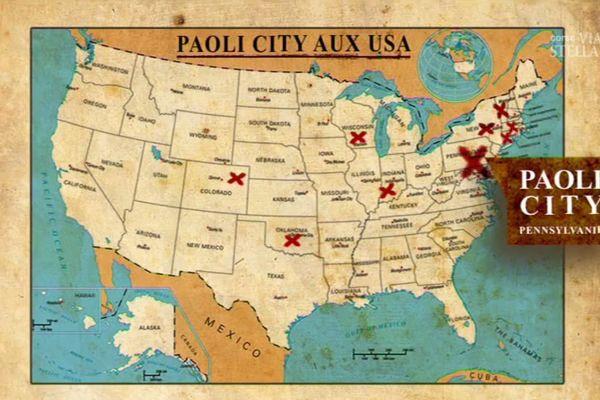 Il y a neuf Paoli City aux Etats-Unis. La première est apparue en Pennsylvanie.