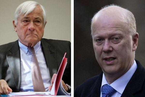 Jean-Marc Puissesseau annonce bannir le ministre britannique des transports Chris Grayling