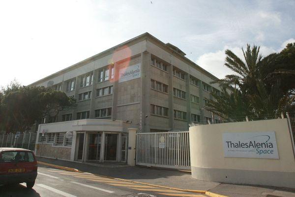 Le site de Thalès Alenia Space à Cannes (Archives)