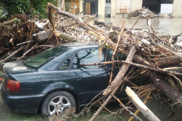 De gros dégâts à Lourdes