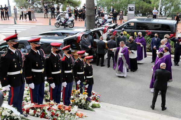 L'hommage religieux se déroulait ce mercredi 8 septembre en la cathédrale de Monaco.