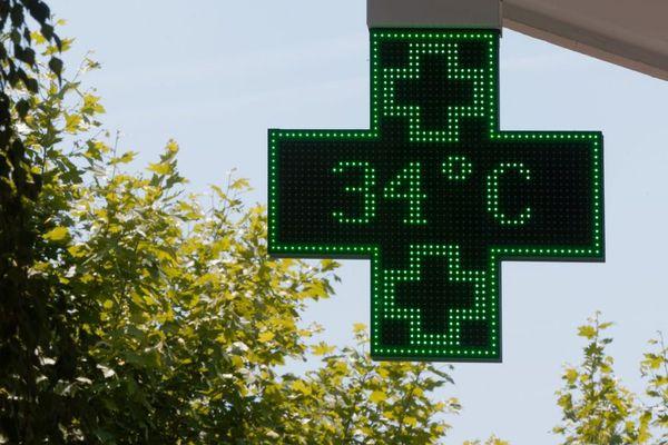 L'été 2017 a été marqué par plusieurs pics de chaleur.