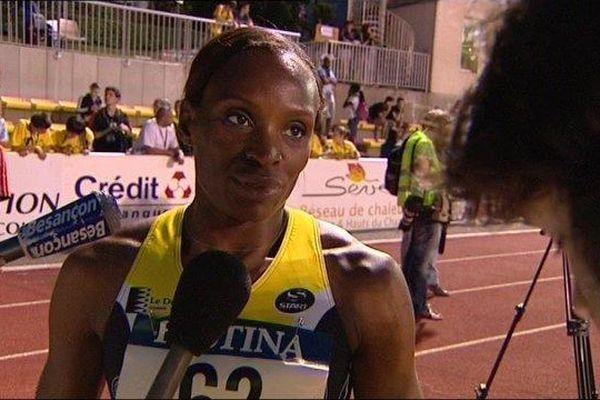 Reina Flor Okori lors du meeting de Besançon 29 mai 2012